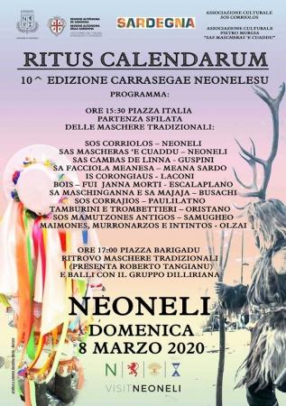 Gite in Sardegna - Carnevale di Mamoiada Partenze dalla Sardegna Pasqua e Primavera